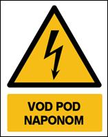 Slika CS-OP-018 - VOD  POD NAPONOM