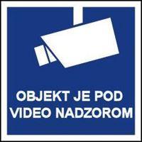 Slika CS-VID-002 - OBJEKT JE POD VIDEO NADZOROM