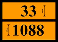 Slika ADR-C - Ploča za označavanje ADR vozila