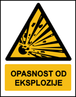 Picture of W002 - OPASNOST OD EKSPLOZIJE (CS-OP-005)