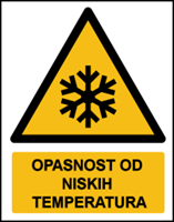 Picture of W010 - OPASNOST OD NISKIH TEMPERATURA (CS-OP-043)