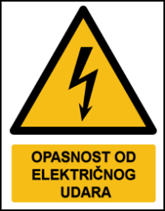 Picture of W012 - OPASNOST OD ELEKTRIČNOG UDARA (CS-OP-007)