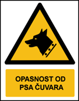 Picture of W013 - OPASNOST OD PSA ČUVARA (CS-OP-052)