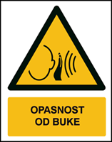 Picture of W038 - OPASNOST OD BUKE (CS-OP-031)