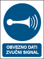 Picture of M029 - OBVEZNO DATI ZVUČNI SIGNAL (CS-OB-031)