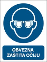 Picture of M004 - OBVEZNA ZAŠTITA OČIJU (CS-OB-002)