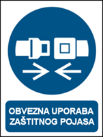 Picture of M020 - OBVEZNA UPORABA ZAŠTITNOG POJASA (CS-OB-120)