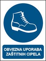 Picture of CS-OB-014 - OBVEZNA UPORABA ZAŠTITNIH CIPELA