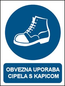 Picture of CS-OB-017 - OBVEZNA UPORABA CIPELA S KAPICOM