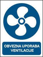 Picture of CS-OB-018 - OBVEZNA UPORABA VENTILACIJE