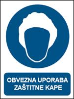 Picture of CS-OB-042 - OBVEZNA UPORABA ZAŠTITNE KAPE
