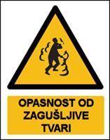 Picture of CS-OP-014 - OPASNOST OD ZAGUŠLJIVE TVARI
