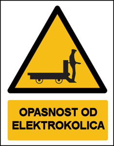 Picture of CS-OP-021 - OPASNOST OD ELEKTROKOLICA