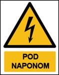 Picture of CS-OP-034 - POD NAPONOM - naljepnica 300x400 mm