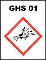 Slika GHS-01 - Eksplozivno