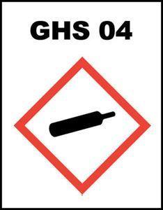 Picture of GHS-04 - Plinske boce