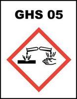 Slika GHS-05 - Nagrizajuće