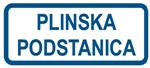 Picture of CS-INFO-101 - PLINSKA PODSTANICA - PVC ploča 400x200 mm
