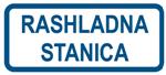 Picture of CS-INFO-081 - RASHLADNA STANICA - naljepnica 400x200 mm