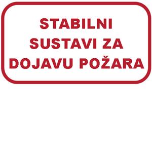 Picture of Ispitivanje stabilnih sustava za zaštitu od požara