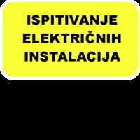 Slika Ispitivanje niskonaponske električne instalacije