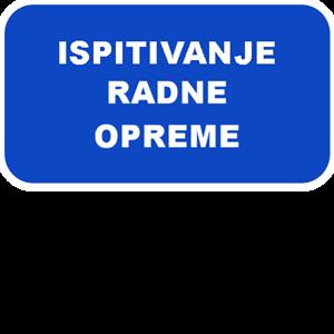 Picture of Ispitivanje radne opreme
