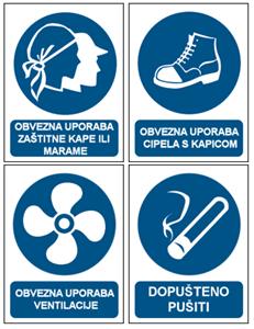 Picture for category Ostali znakovi obveze (provjereni u praksi)