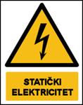 Picture of CS-OP-038 - STATIČKI ELEKTRICITET - naljepnica 180x230 mm