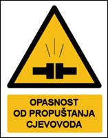 Picture of CS-OP-022 - OPASNOST OD PROPUŠTANJA CJEVOVODA