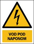 Picture of CS-OP-018 - VOD  POD NAPONOM - naljepnica 180x230 mm
