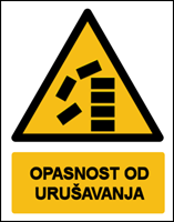 Picture of CS-OP-028 - OPASNOST OD URUŠAVANJA