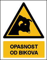 Picture of W034 - OPASNOST OD BIKOVA (CS-OP-134)