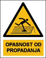 Picture of W036 - OPASNOST OD PROPADANJA (CS-OP-136)