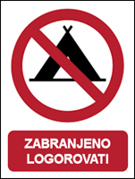 Slika CS-ZA-203 - ZABRANJENO LOGOROVATI