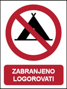 Picture of CS-ZA-203 - ZABRANJENO LOGOROVATI