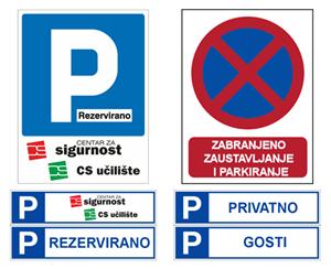 Picture for category Označavanje parkiranja