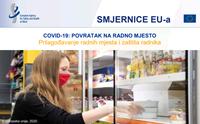 Picture of EU-OSHA - smjernice EU o povratku na posao i NAPO COVID-19